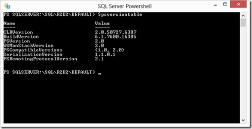 PowerShell2012HostVersion