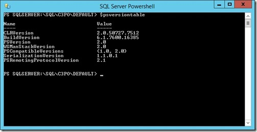 PowerShell2014HostVersion